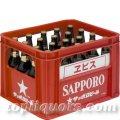 サッポロ エビス大瓶633ml 20本入(瓶・ケース保証代込)