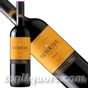 画像1: サンライズ メルロー750ml(赤ワイン/ミディアム)
