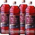 サントリーVO4000mlペット 1ケース(4本入)