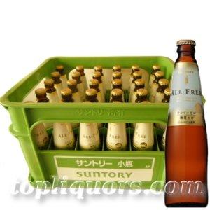 画像1: サントリー オールフリー小瓶334ml×30本入(瓶・ケース保証代込)