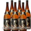 本格芋焼酎 桜島(黒麹)25度1800ml瓶×6本