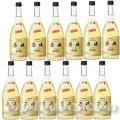 壱岐麦焼酎 壱岐スーパーゴールド22度720ml瓶×12本