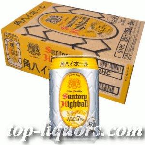 画像1: サントリー角ハイボール缶350ml缶1ケース(24本入)
